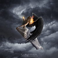 Damned Angel by Corvinerium
