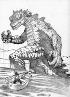 GORGO WHERE HE WANTS TO by Ragnaroker