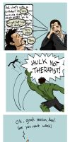 Tony's Therapy by tee-kyrin