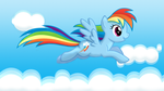 Soaring Above The Clouds by ikillyou121