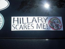 Weird Bumper Sticker O_o by Jane2Audron