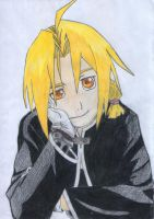Edward Elric by Vespergold