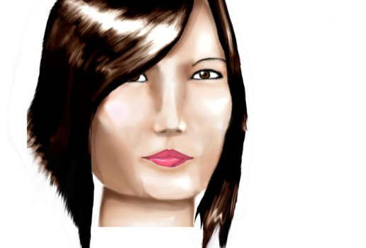 portrait of ma sister by mo-thug