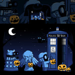 Woot Shirt - A Who Halloween by fablefire