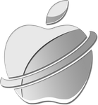 Apple Logo Redesign - Alternate Version by BlackenedTitan