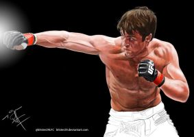 Chael P. Sonnen by kitster29