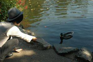 Once-ler - Duck Whisperer by Fathix