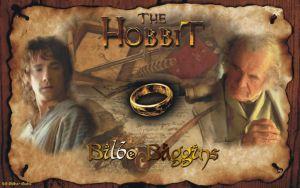 The yound and old Bilbo Baggins by LadyCyrenius