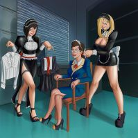 Maid Trio - Acquisition by Boogars
