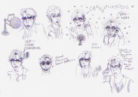 Welcome To Night Vale Sketches by PaulaPau