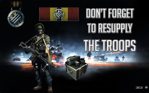 BF3 Resupply Poster by BillyM12345