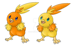 +255-Torchic+ by min-mew