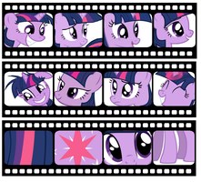 Twilight Sparkle Background by SJArt117