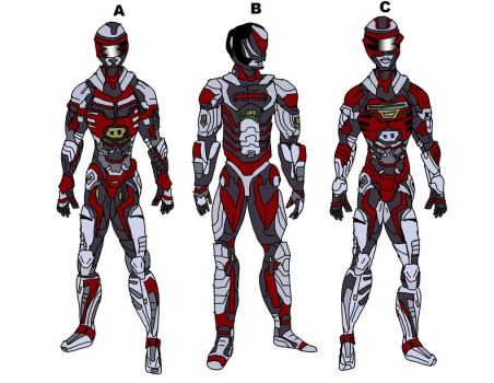 VR Troopers JB Movie Idea 1 - colors by LavenderRanger