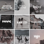 Distorted Font Pack by LittleMirr