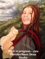 Mother and Child - *WORK IN PROGRESS #2* by jalachan