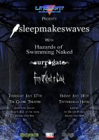 Sleepmakeswaves tour by FLYBUYF1