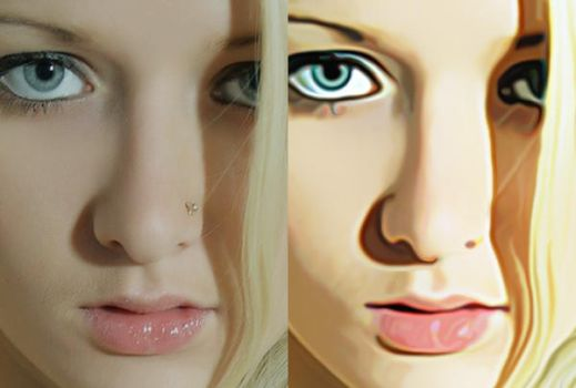 How to Convert your photo into a painting ? by xhzad