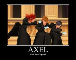De motivational Poster: Axel by 5REQUIEM5
