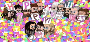 Valentine 2014: Dwarves by Kumama