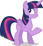 Mlp Fim twilight sparkle (i'm not sure) vector by luckreza8
