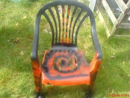 snake chair by flamex1991