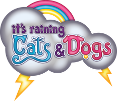 Raining Cats and Dogs Logo by Thebubbleqat