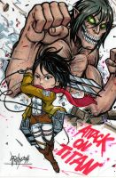 ATTACK  ON TITAN 2 by Djiguito