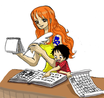 One Piece, The Lesson by heivais