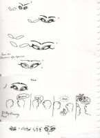Drawingpractice Eyes All by Rodlox