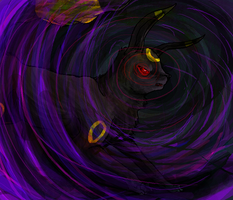 umbreon used dark pulse by hapro