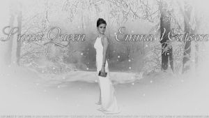 Emma Watson Snow Queen IV V2 by Dave-Daring