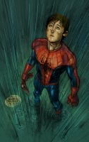 Wet Spiderman by GMcConnell