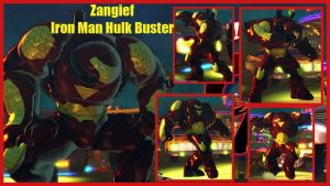 Zangief as Iron Man Hulk Buster by salimano3