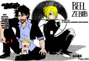 Beelzebub Colored by S4Pabl0