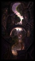 Town Town by JordiGart