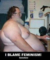 I Blame Feminism by Valendale