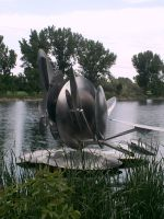 Nebraska Wind Sculpture by teamrocketavenger