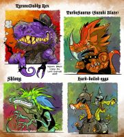 Venom Bikers by Garvals