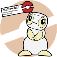 Fake Pokemon: Mallowfeit by Sageroot