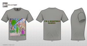 Monster Land T-Shirt by MeMoSkiTTles