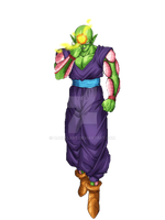 Piccolo - Chargin' Special Beam Cannon by HazeelArt