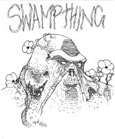 Swamp Thing 2015-03-23 by Shadowrenderer