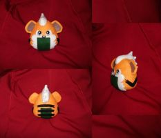 Pokelith - Growlithe by merlinemrys