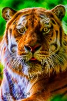 Oural the Tiger: Fractalius Re-Edit by nerdboy69