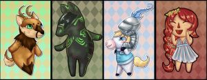 Neopets Crossing by Tiny-Owl