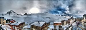 Tignes 2010 panorama04 by Siccie