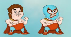 Nacho Libre by Makinita