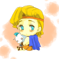 Chibi Hercules by wool100ee