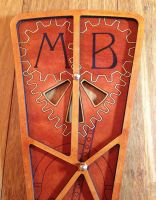 Monogram bodice panel - upper detail by semperphi60
